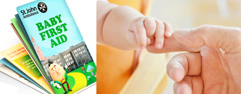 Get Your FREE Baby First Aid Pocket Guide From St John Ambulance