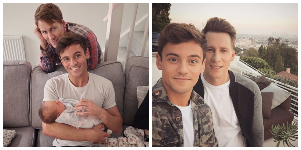 Tom Daley & Husband Dustin Lance Welcome Baby Son
