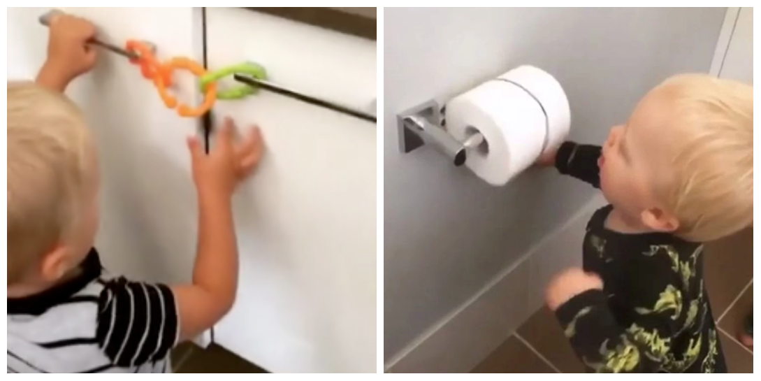 This Mum's Toddler Bathroom Hacks Will Change Your Life